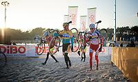 friendly recon for Tom Meeusen (BEL/Telenet-Fidea) & Klaas Vantornout (BEL/Sunweb-Napoleon Games)<br /> <br /> Zilvermeercross 2014