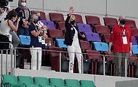 SAITAMA, JAPAN - JULY 24: First Lady Jill Biden of USA during a game between New Zealand and USWNT at Saitama Stadium on July 24, 2021 in Saitama, Japan.