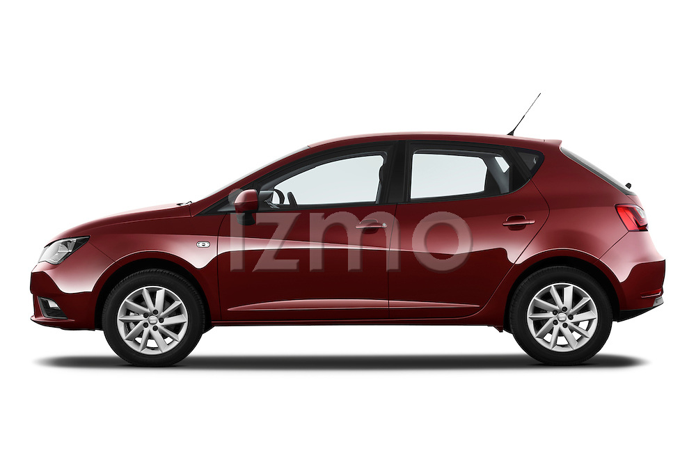 Driver side profile view of a 2013 Seat Ibiza Style Hatchback.