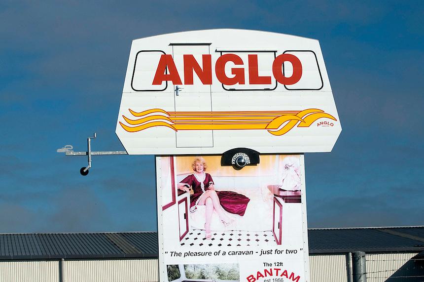 Anglo Caravans 2011.<br /> New Zealand Fine Art Print.