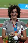 Chelsea Clark obtient une médaille d'or au 100 mètres (Jean-Baptiste Benavent 22 septembre).