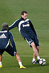 Madrid (02/03/10).-Entrenamiento del Real Madrid..Cristoph Metzelder...© Alex Cid-Fuentes/ ALFAQUI..Madrid (02/03/10).-Training session of Real Madrid c.f..Cristoph Metzelder...© Alex Cid-Fuentes/ ALFAQUI.