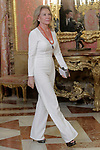 Alicia Koplowitz during the reception of King Felipe VI of Spain at the Royal Palace in honor of the President of the French Republic Emmanuel Macron. July 26,2018. (ALTERPHOTOS/Acero)