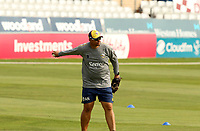 Andre New of Essex leads bowling drills prior to Essex Eagles vs Surrey, Vitality Blast T20 Cricket at The Cloudfm County Ground on 11th September 2020