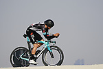 Kevin Colleoni (ITA) Team BikeExchange during Stage 2 of the 2021 UAE Tour an individual time trial running 13km around  Al Hudayriyat Island, Abu Dhabi, UAE. 22nd February 2021.  <br /> Picture: Eoin Clarke | Cyclefile<br /> <br /> All photos usage must carry mandatory copyright credit (© Cyclefile | Eoin Clarke)