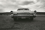 1972. Used cars. Route 15 North, Williamsport, PA. 1960's Cadillac.