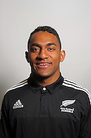Sevu Reece. The 2015 New Zealand Schools rugby union team headshots at NZ Sports Institute, Palmerston North, New Zealand on Friday, 18 September 2015. Photo: Dave Lintott / lintottphoto.co.nz