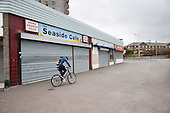 Empty shops and businesses in Margate, Kent.