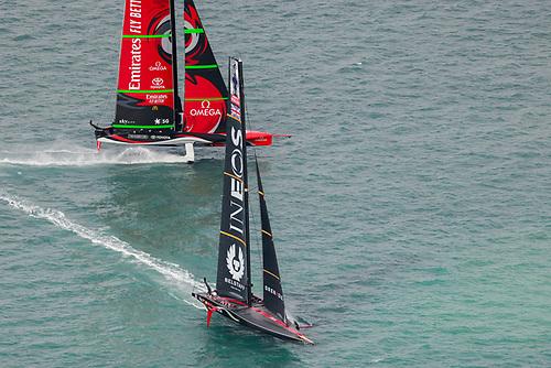 Emirates Team New Zealand beat INEOS TEAM UK