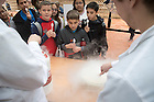"""November 11, 2016; """"Let's Have a Moment of Science,"""" hosted by the College of Science and College of Engineering, invited grade schoolers from the San Antonio area for demonstrations and brief lectures showcasing Notre Dame science and STEM areas. (Photo by Matt Cashore/University of Notre Dame)"""
