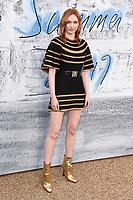 LONDON, UK. June 25, 2019: Eleanor Tomlinson arriving for the Serpentine Gallery Summer Party 2019 at Kensington Gardens, London.<br /> Picture: Steve Vas/Featureflash
