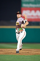 Rochester Red Wings relief pitcher Tyler Duffey (13) delivers a pitch during a game against the Lehigh Valley IronPigs on June 29, 2018 at Frontier Field in Rochester, New York.  Lehigh Valley defeated Rochester 2-1.  (Mike Janes/Four Seam Images)