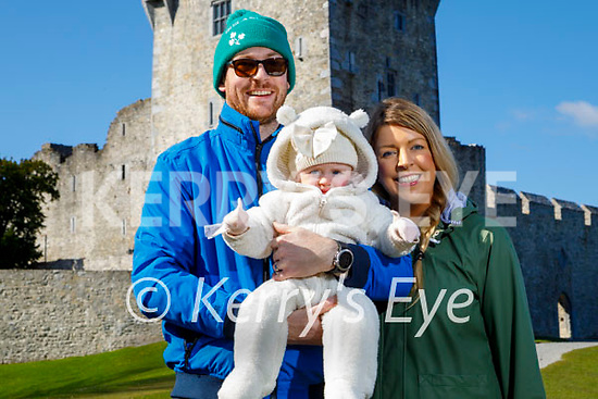 Enjoying a stroll at Ross Castle in Killarney on Saturday, l to r: Pat, Clara and Eileen Tuohy.
