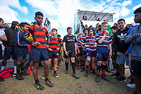 Rugby sevens - boys' final. Day six of the 2019 AIMS games at Blake Park in Mount Maunganui, New Zealand on Friday, 13 September 2019. Photo: Dave Lintott / lintottphoto.co.nz