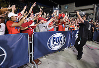 WASHINGTON DC - OCTOBER 27: Fans at World Series Game 5: Houston Astros at Washington Nationals on Fox Sports at Nationals Park on October 27, 2019 in Washington, DC. (Photo by Frank Micelotta/Fox Sports/PictureGroup)