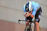 2021 UEC Road Cycling European Championships. Trento, Italy on September 9, 2021. Men Elite Individual Time Trial, Filippo GANNA (ITA) in action