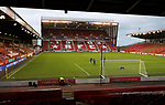Aberdeen v St Johnstone…26.12.20   Pittodrie      SPFL<br />Zander Clark, Elliott Parish and Jack Wills warm up prior to kick off<br />Picture by Graeme Hart.<br />Copyright Perthshire Picture Agency<br />Tel: 01738 623350  Mobile: 07990 594431