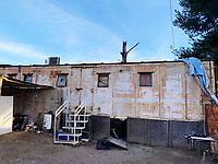 abandoned train car in Nacozari de Garcia, Vagone used as home in Nacozari, Sonora, Mexico...<br /> <br /> vagon de trene abandonado en Nacozari de Garcia, Vagone usado como hogar en Nacozari, Sonora, Mexico
