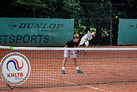 Hilversum, Netherlands, Juli 31, 2019, Tulip Tennis center, National Junior Tennis Championships 12 and 14 years, NJK, Boys Doubles: Lloyd Koster (NED) and Kaj Glaser (NED)<br /> Photo: Tennisimages/Henk Koster