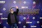 Alex de la Iglesia attends to Avengers Endgame premiere at Capitol cinema in Madrid, Spain. April 23, 2019. (ALTERPHOTOS/A. Perez Meca)