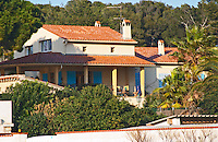 The main building and garden. Clos des Iles Chambres d'Hotes Bed and Breakfast Le Brusc Six Fours Cote d'Azur Var France