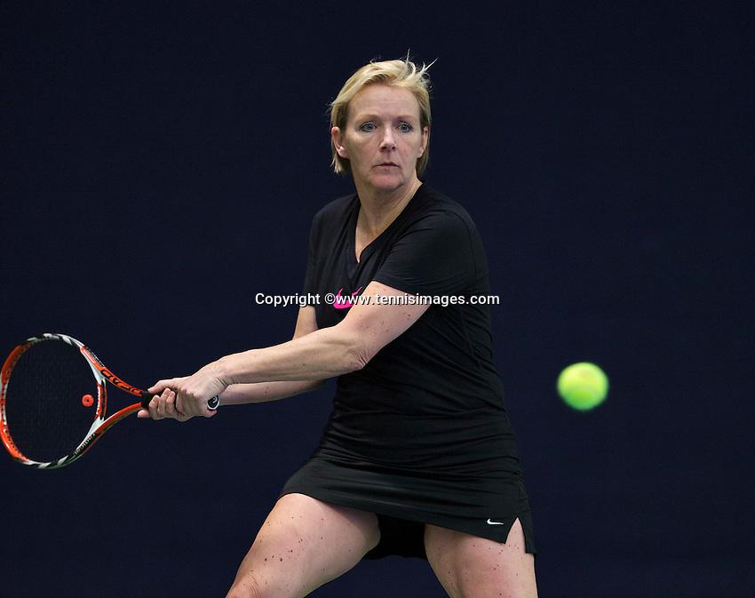 Hilversum, The Netherlands, March 10, 2016,  Tulip Tennis Center, NOVK, Tieske Kroone-Van Duinen<br /> Photo: Tennisimages/Henk Koster