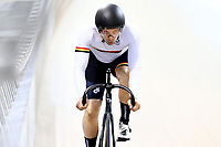 Geoff Hinton competes in the Men Elite Sprint during the 2020 Vantage Elite and U19 Track Cycling National Championships at the Avantidrome in Cambridge, New Zealand on Friday, 24 January 2020. ( Mandatory Photo Credit: Dianne Manson )