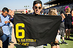 DEL MAR,CA-SEPTEMBER 05: The saddle cloth of Klimt after winning the Del Mar Futurity at Del Mar Race Track on September 05,2016 in Del Mar,California (Photo by Kaz Ishida/Eclipse Sportswire/Getty Images)