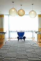 SIXX DESIGN, husband and wife team Cortney and Robert Novogratz, known around the world for their distinctive, chic residential and commercial projects created 400 West Street in New York City.