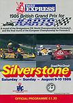 1986 British Grand Prix for Karts