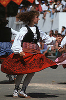Europe/France/Aquitaine/64/Pyrénées-Atlantiques/Saint-Palais: Festival force basque - Danseuse