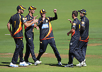140323 One Day Cricket - Wellington Firebirds v Central Stags