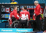 PyeongChang 2018 - Wheelchair Curling // Curling en fauteuil roulant.<br /> Canada plays Sweden in Wheelchair curling // Le Canada affronte la Suède au curling en fauteuil roulant.<br /> 11/03/2018.