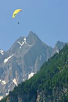 Parapente dans les Alpes