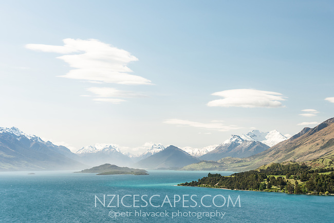 Lake Wakatipu, Mount Aspiring National Park, UNESCO World Heritage Area, Central Otago, New Zealand, NZ