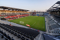 WASHINGTON, DC - SEPTEMBER 06: Audi Field during a game between New York City FC and D.C. United at Audi Field on September 06, 2020 in Washington, DC.