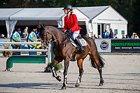 BEL- Lara de Liedekerke-Meier rides Cascaria V during the Showjumping for the CCIO4*-NC-L. 2021 NED-Military Boekelo - Enschede FEI Nations Cup Eventing. Boekelo, Netherlands. Sunday 10 October 2021. Copyright Photo: Libby Law Photography