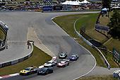 #86 Michael Shank Racing with Curb-Agajanian Acura NSX, GTD: Katherine Legge, Alvaro Parente, #96 Turner Motorsport BMW M6 GT3, GTD: Robby Foley, Bill Auberlen, start