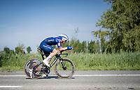 Yves Lampaert (BEL/Deceuninck - QuickStep)<br /> <br /> 91st Baloise Belgium Tour 2021 (BEL/2.Pro)<br /> Stage 2 (ITT) from Knokke-Heist to Knokke-Heist (11.2km)<br /> <br /> ©kramon