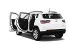 Car images close up view of a 2018 Jeep Compass Latitude 5 Door SUV doors