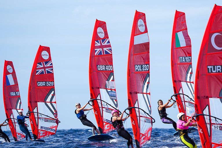 There are some strong RS:X windsurfers creeping into the start lists of the new iQFOiL Olympic class
