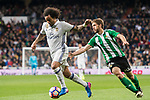 Marcelo Vieira Da Silva of Real Madrid runs past Darko Brasanac of Real Betis during their La Liga match between Real Madrid and Real Betis at the Santiago Bernabeu Stadium on 12 March 2017 in Madrid, Spain. Photo by Diego Gonzalez Souto / Power Sport Images