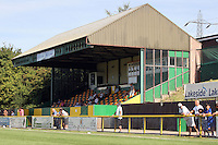 The main stand at Thurrock Football Club - West Ham United Ladies vs Queen's Park Rangers Ladies - FA Tesco Womens Premier League Southern Division at Ship Lane, Thurrock FC - 23/08/09 - MANDATORY CREDIT: Gavin Ellis/TGSPHOTO - Self billing applies where appropriate - Tel: 0845 094 6026