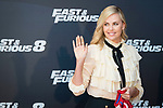 """South African actress Charlize Theron during the presentation of the film """"Fast & Furious 8"""" at Hotel Villa Magna in Madrid, April 06, 2017. Spain.<br /> (ALTERPHOTOS/BorjaB.Hojas)"""