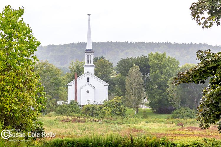Sheepscot village, Newcastle, Maine, USA