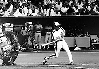 Montreal Expos<br /> baseball team at the Olympic Stadium, April 20, 1987