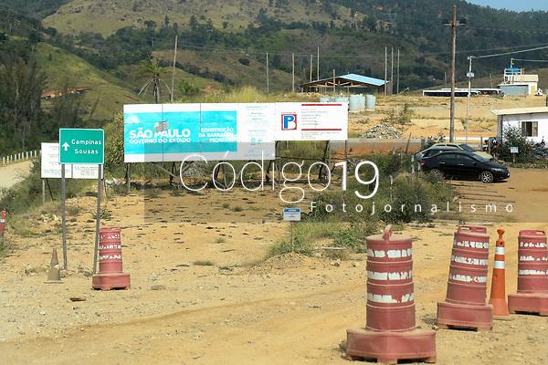 Campinas (SP), 28/05/2021 - Construção da barragem de Pedreira/Campinas nesta sexta-feira (28).