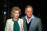 **FILE PHOTO** Anne Douglas Has Passed Away.<br /> <br /> Kirk Douglas And Anne Douglas 1986      <br /> CAP/MPI/RAP<br /> ©RAP/MPI/Capital Pictures