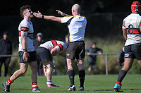 Action from the Wellington 1st XV premier rugby final between Scots College and St Patrick's College Silverstream at Porirua Park in Wellington, New Zealand on Sunday, 18 August 2019. Photo: Dave Lintott / lintottphoto.co.nz