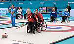 Jim Armstrong and Dennis Thiessen, Sochi 2014 - Wheelchair Curling // Curling en fauteuil roulant.<br />